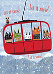 SKI GONDOLA - available to ship 9/1/2021.