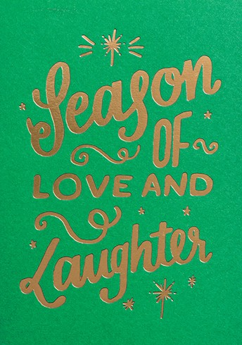 SEASON OF LOVE AND LAUGHTER